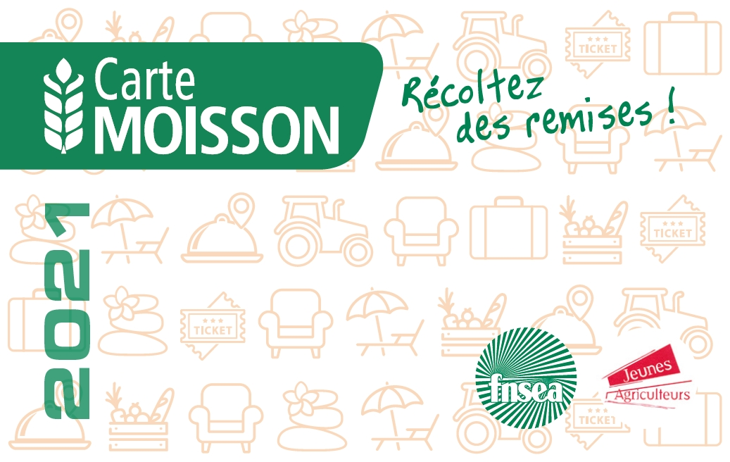Carte Moisson 2021